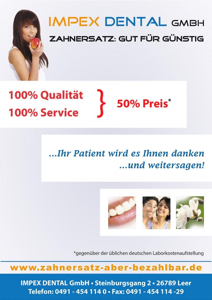 Zahnärzte-Flyer Seite 1